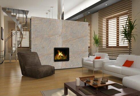 Kamenná dyha ako obklad v interiéri